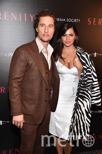 Мэттью МакКонахи с супругой. Фото Getty