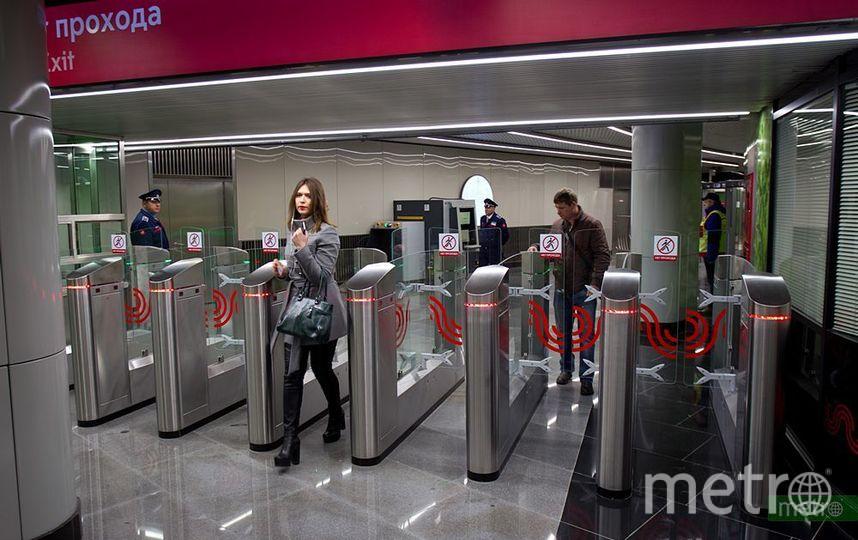 В Москве салатовую линию метро продлят до района Северный. Фото Василий Кузьмичёнок