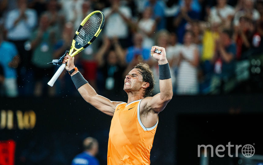 Испанский теннисист Рафаэль Надаль. Фото Getty