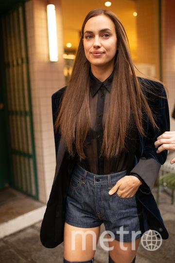 Ирина Шейк в Париже. Фото Getty