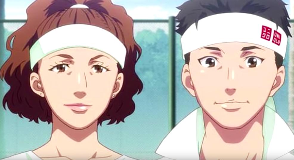 Критики утверждают, что персонаж Осаки (слева) изображён с бледной кожей, светло-каштановыми волосами и европейскими чертами лица. Фото Скриншот youtube.com/watch?v=tGvx888YLzc&t=95s