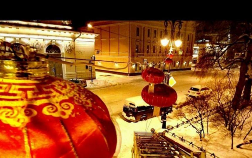"""В Петербурге начали отмечать восточный Новый год. Фото СПб ГУП """"Ленсвет"""", """"Metro"""""""