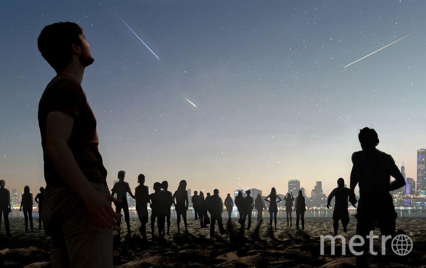 Падающие звёзды. Фото STUDIO ROOSEGAARDE