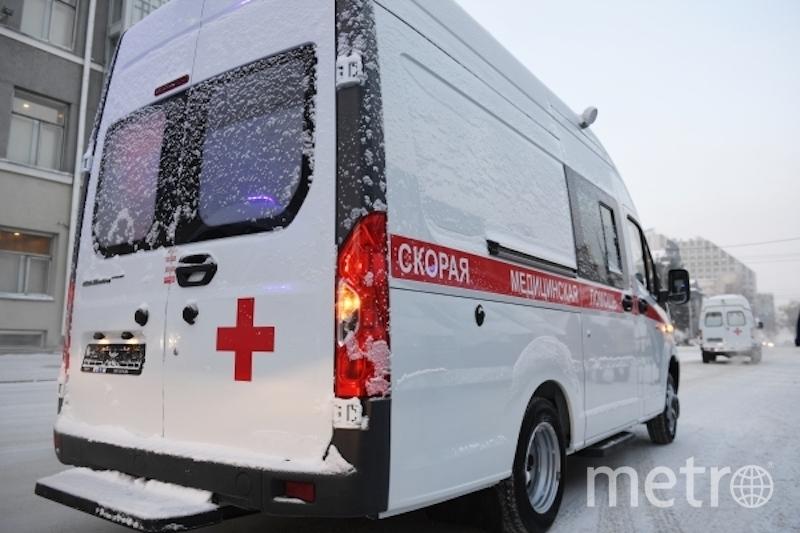 В результате аварии есть пострадавшие. Фото РИА Новости