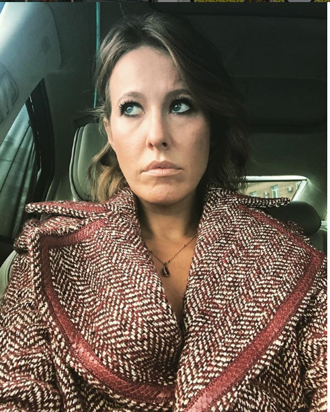 """Ксения Собчак в своем блоге жалуется на обилие """"мудаков"""" вокруг. Фото https://www.instagram.com/xenia_sobchak/, """"Metro"""""""