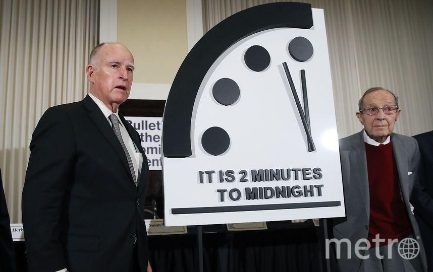 Часы Судного дня. Фото Getty