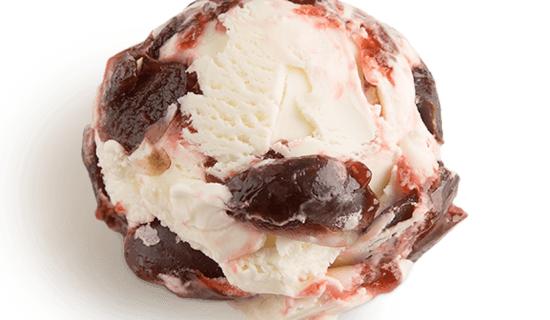 """Мороженое """"Йогурт с вишней""""."""
