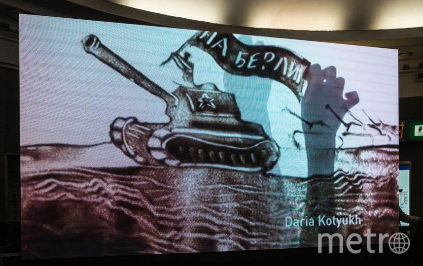 """""""Автово"""" в Петербурге устроили художественно-музыкальное представление. Фото Святослав Акимов, """"Metro"""""""