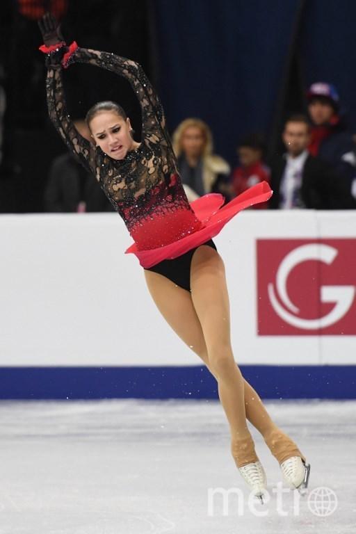 Загитова сильно проиграла Самодуровой. Фото AFP
