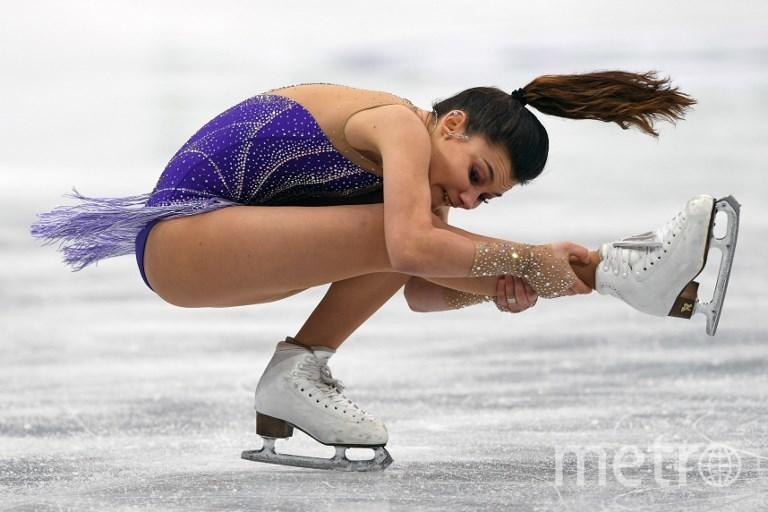 Софья Самодурова откатала чисто. Фото AFP