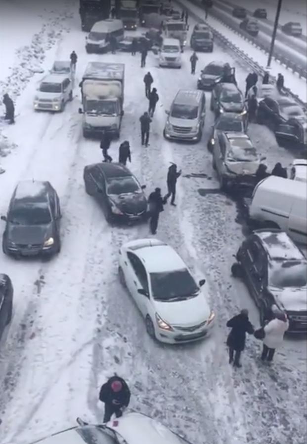 Симферопольское шоссе. Фото Metro, Скриншот Youtube