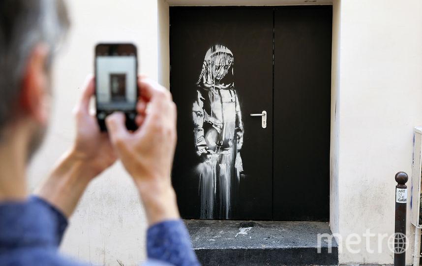 Граффити Бэнкси. Фото Getty