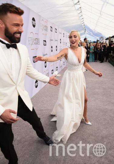 SAG Awards-2019. Леди Гага и Рикки Мартин. Фото Getty
