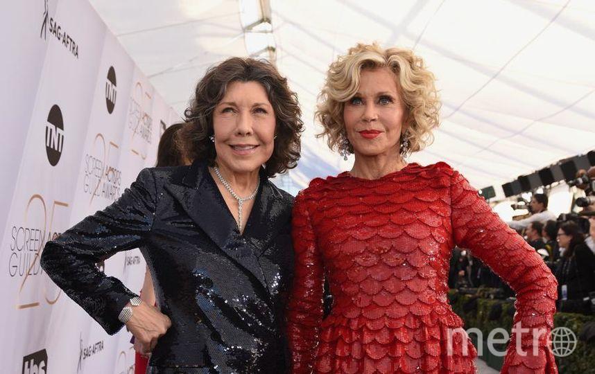 SAG Awards-2019. Лили Томлин и Джейн Фонда. Фото Getty