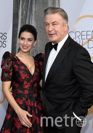 SAG Awards-2019. Алек Болдуин с женой. Фото Getty