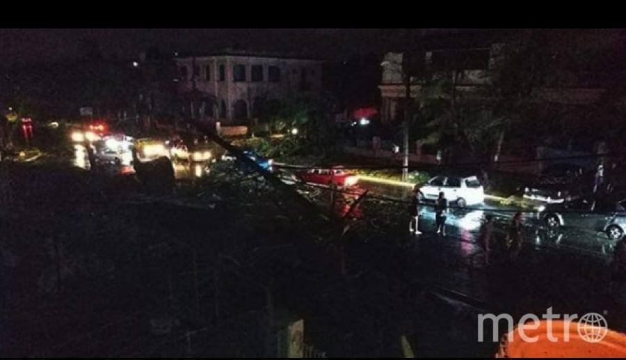 "Торнадо бушевал в Гаване. Фото https://www.instagram.com/p/BtLFyhDBDLg/, ""Metro"""