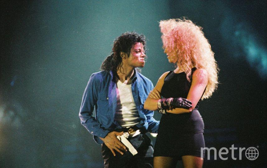 Легендарный поп-певец Майкл Джексон. Фото Getty