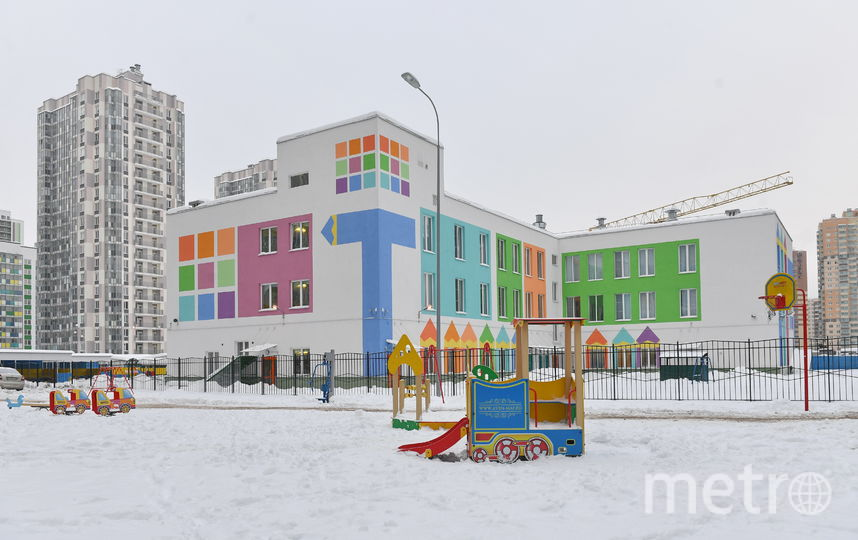 """Детский сад в  ЖК """"Вернисаж"""". Фото """"Metro"""""""