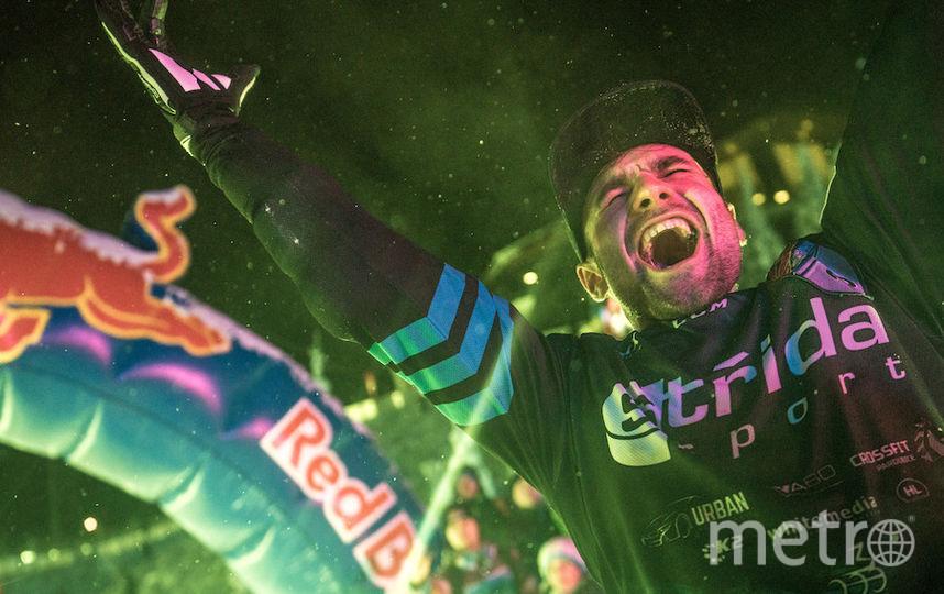 Михаэл Урбан был счастлив победить. Фото redbullcontentpool.com