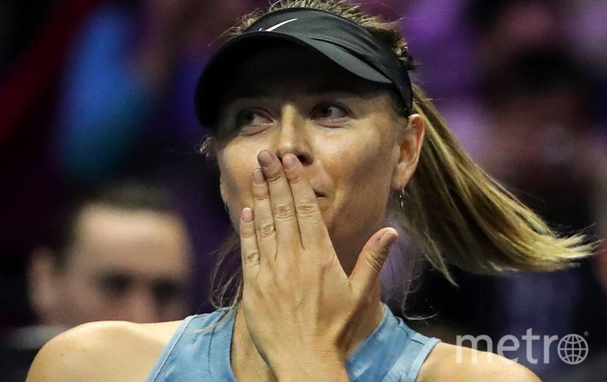 Российская теннисистка Мария Шарапова впервые приехала в Санкт-Петербург.. Фото Getty