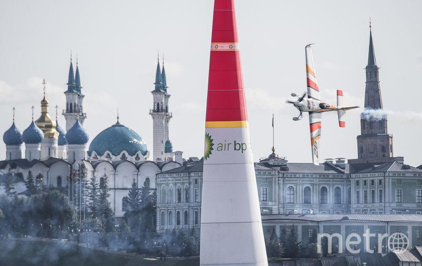 В Казани проходит один из самых красивых этапов. Фото redbullcontentpool.com
