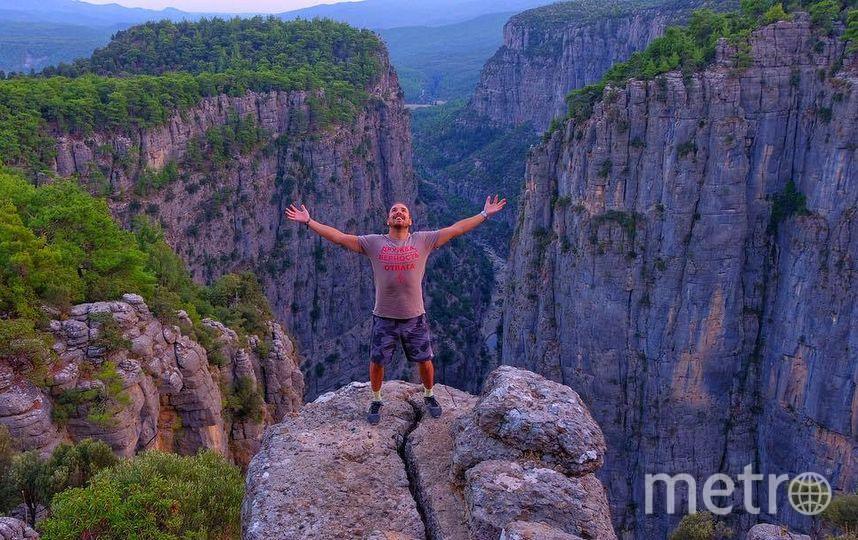Покорение каньона Тази. Фото Instagram/avgomzyakov