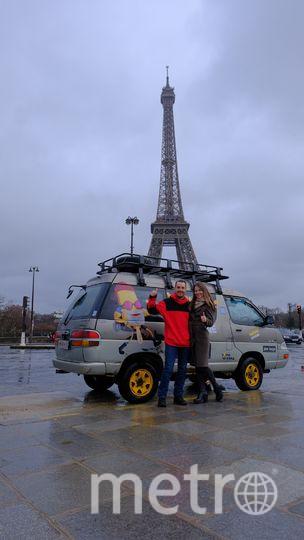 Влюблённые в Париже. Фото предоставила Соня Резчикова