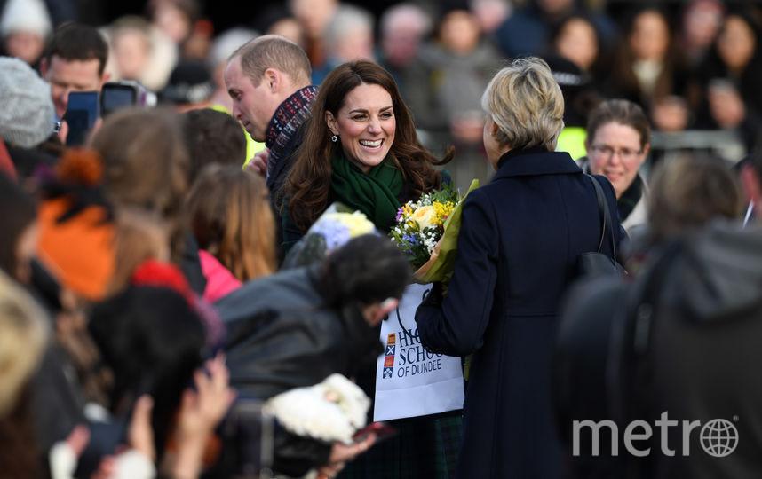 Принц Уильям и Кейт Миддлтон в Шотландии. Фото Getty