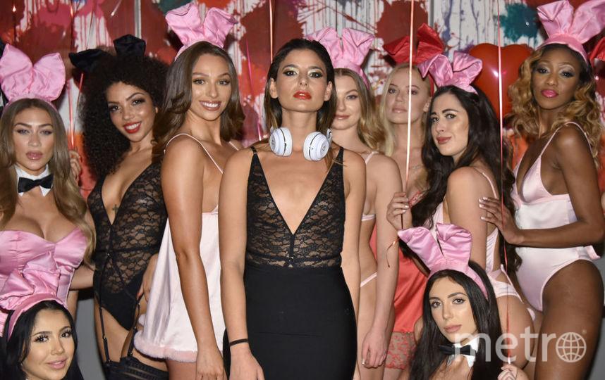 Презентация коллекции нижнего белья Playboy совместно с брендом Coco de Mer в Лондоне. Фото Getty