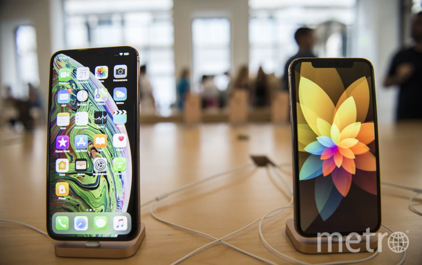 Новый iPhone XS. Фото Getty