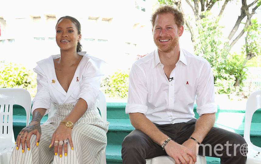 Рианна и принц Гарри. Фото Getty