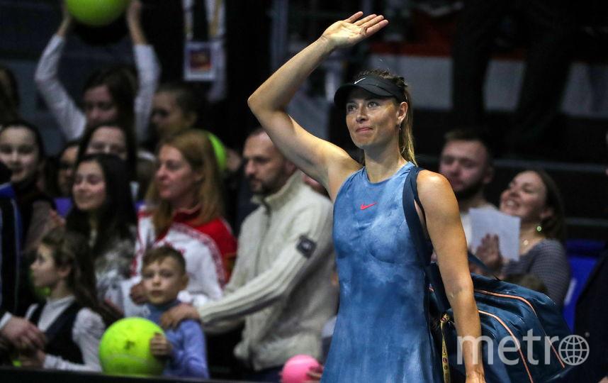 Мария Шарапова покидает Петербург. Фото Getty
