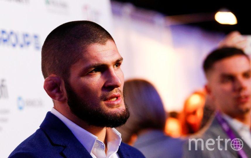 Российский чемпион UFC  в лёгком весе Хабиб Нурмагомедов. Фото Getty