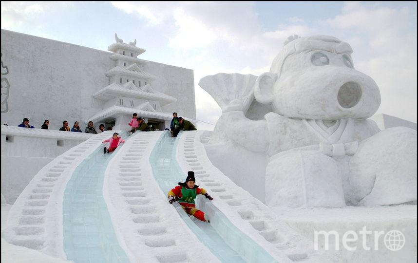 Фестиваль снега в Саппоро. Фото Getty