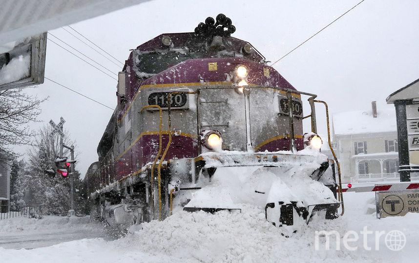 Снегопад в Сент-Джонсе. Фото Getty