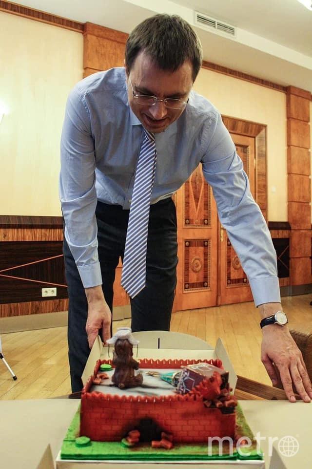 Украинский политик Владимир Омелян. Фото Facebook/Marina Tomko