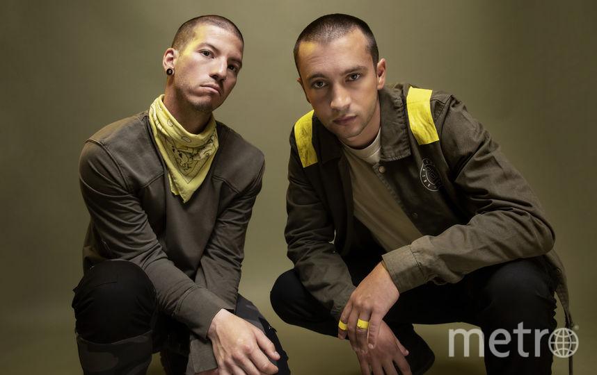 Джош Дан и Тайлер Джозеф. Фото Из личного архива.