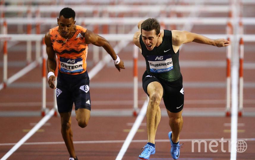 Сергей Шубенков (справа), как и другие российские легкоатлеты, на международных стартах выступал в нейтральном статусе. Фото Getty