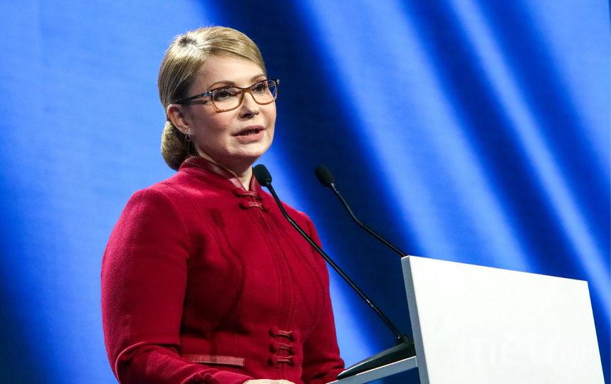 Юлия Тимошенко, кандидат в президенты Украины. Фото Getty