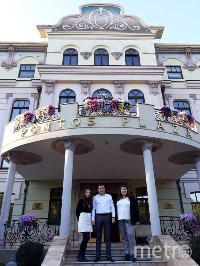 """отеля """"Pontoz Plaza""""."""