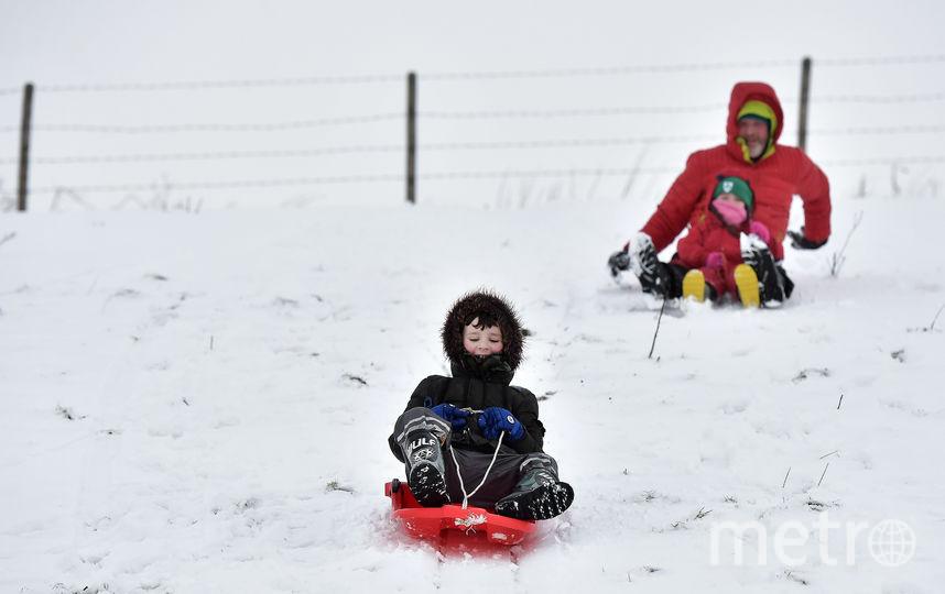 В Петербурге снова ждут снегопад. Фото Getty