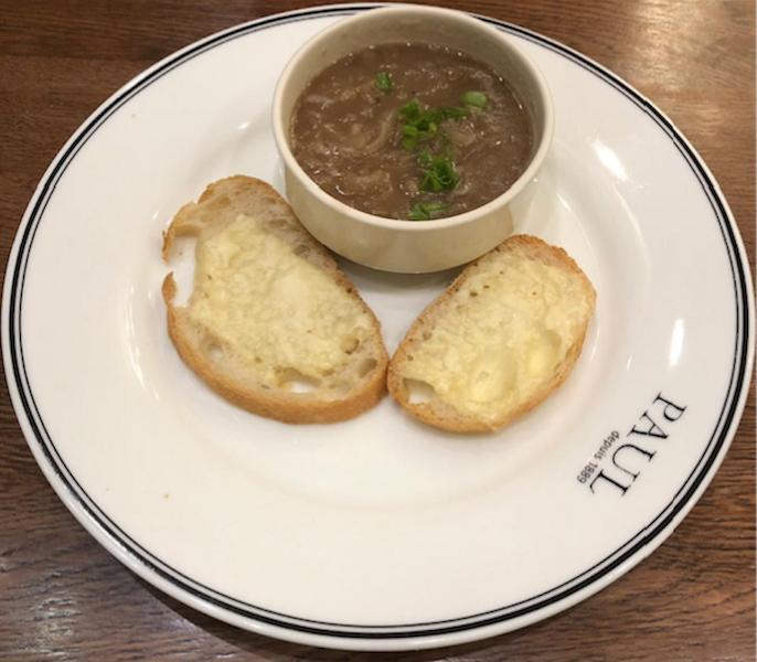 """Суп луковый в Paul. Фото Мария Позина, """"Metro"""""""