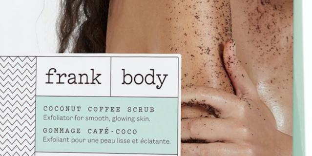 Frank Body Скраб для тела кокосово-кофейный.
