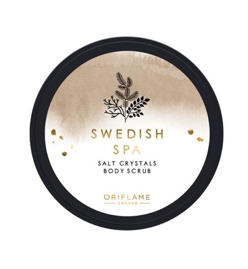 "Oriflame, cолевой скраб для тела ""Шведский SPA-салон""."
