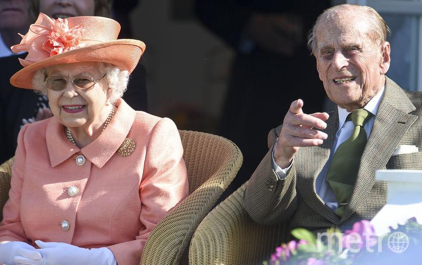 Елизавета II с супругом принцем Филиппом. Фото Getty