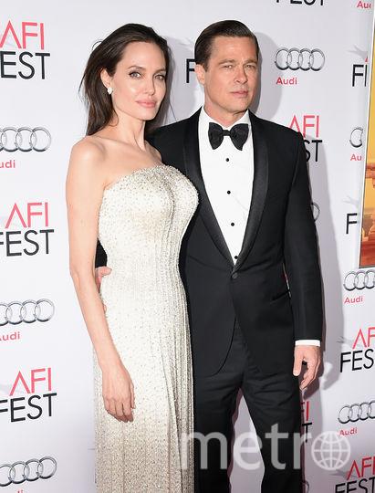 Анджелина Джоли и Брэд Питт (до развода). Фото Getty