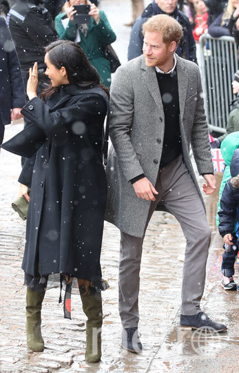 Меган и Гарри в Бристоле. Фото Getty