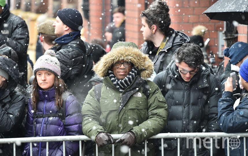 Ожидавшие Меган и Гарри утеплились еще серьезнее. Фото Getty