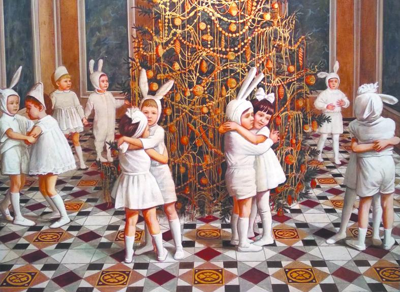 Работы членов Московского союза художников, объединённые темой детства. Фото Предоставлено организаторами
