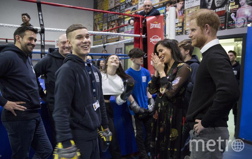 Принц Гарри и Меган Маркл осмотрели спортзал в Бристоле. Фото Getty